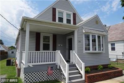 Baltimore Single Family Home For Sale: 543 Bayside Drive