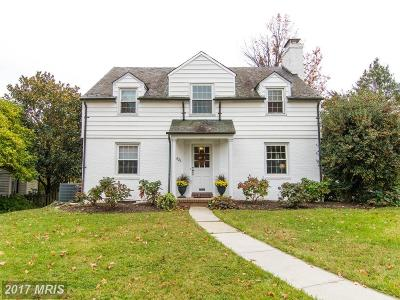 Towson Single Family Home For Sale: 623 Sussex Road