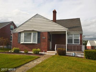 Baltimore Single Family Home For Sale: 1826 Weyburn Road
