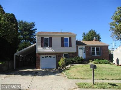 Baltimore Single Family Home For Sale: 9524 Hickory Falls Way