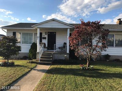 Dundalk Single Family Home For Sale: 6900 5th Avenue