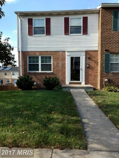 Cockeysville Townhouse For Sale: 316 Ringold Valley Circle