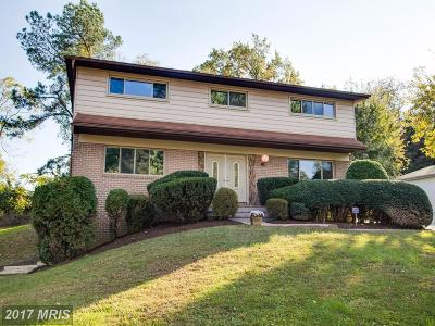 Owings Mills Single Family Home For Sale: 12229 Greenspring Avenue