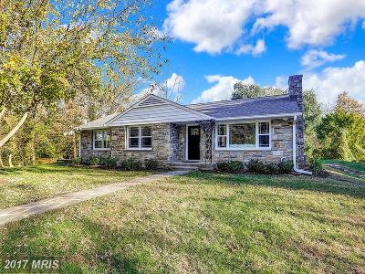 Rosedale, Towson Single Family Home For Sale: 1705 Joppa Road