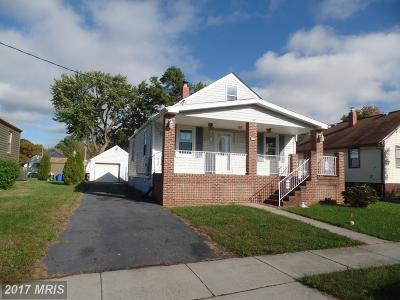 Essex MD Single Family Home Sale Pending: $99,000