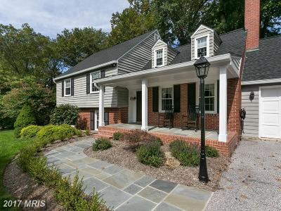 Baltimore Single Family Home For Sale: 7000 Charles Ridge Road