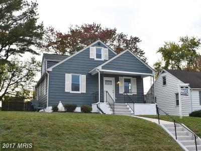 Baltimore Single Family Home For Sale: 4225 Thorncliff Road