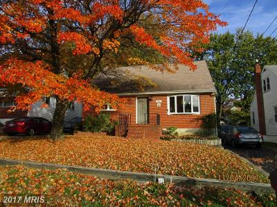 Baltimore Single Family Home For Sale: 7932 32nd Street