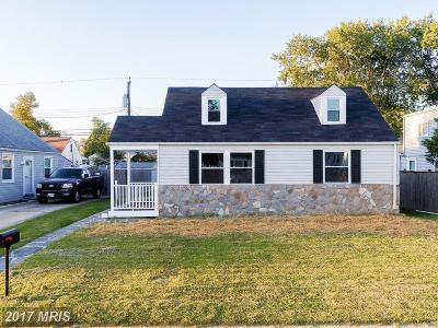 Single Family Home For Sale: 8116 Cornwall Road