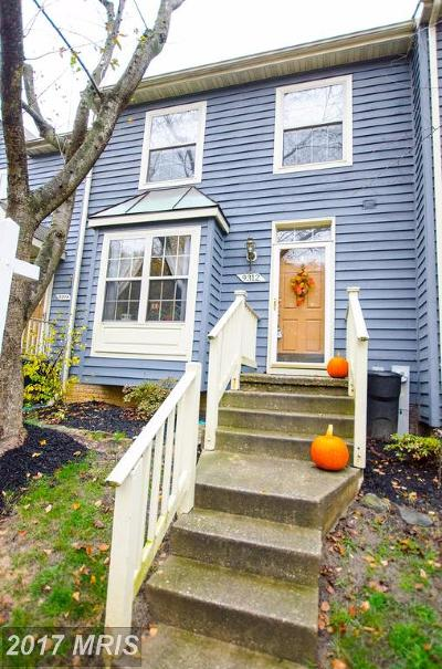 Owings Mills Townhouse For Sale: 9312 Town Place Drive
