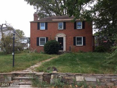 Pikesville Single Family Home For Sale: 4219 Old Milford Mill Road
