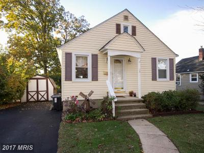 Hunt Valley, Lutherville Timonium Single Family Home For Sale: 19 Belfast Road