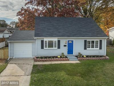 Baltimore Single Family Home For Sale: 3719 Holly Grove Road