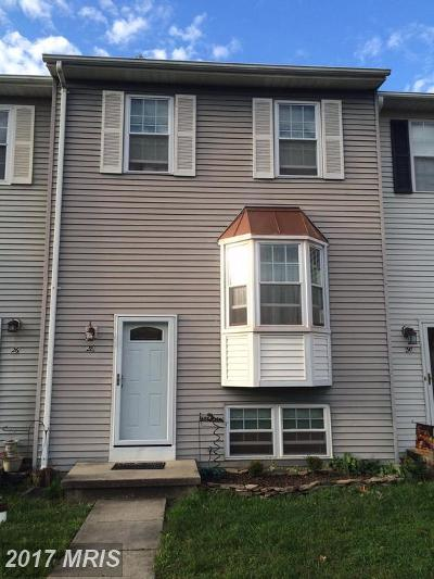 Baltimore Townhouse For Sale: 28 Joggins Court