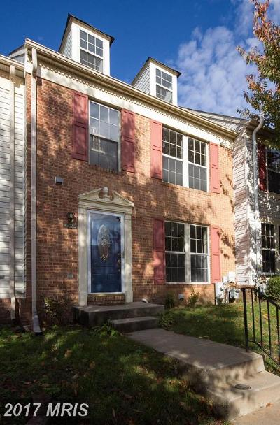 Owings Mills Townhouse For Sale: 4723 Wainwright Circle