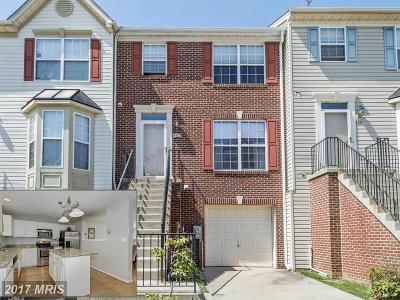 Owings Mills Townhouse For Sale: 4812 Buxton Circle
