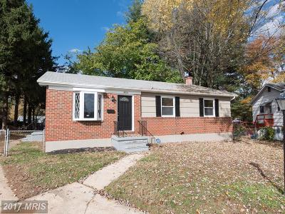 Randallstown MD Single Family Home For Sale: $271,900