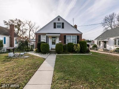 Single Family Home For Sale: 414 S Taylor Avenue
