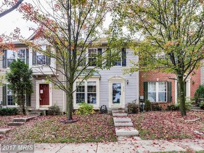 Owings Mills Townhouse For Sale: 9839 Sherwood Farm Road
