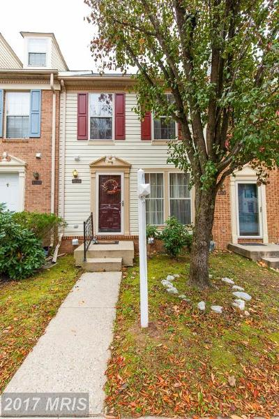 Owings Mills Townhouse For Sale: 4714 Wainwright Circle
