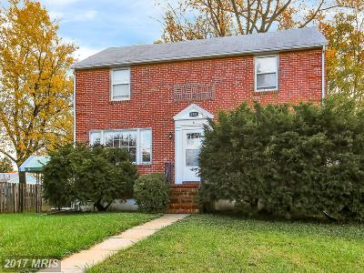 Catonsville Multi Family Home For Sale: 1201 Baker Avenue