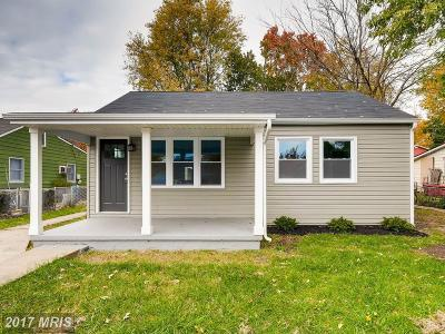 Baltimore Single Family Home For Sale: 10 Control Court