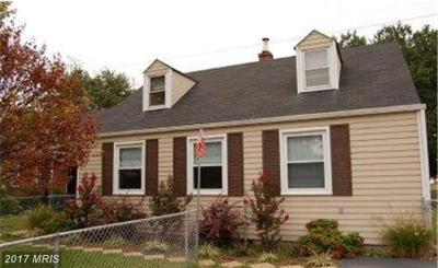 Baltimore Single Family Home For Sale: 8104 Bullneck Road