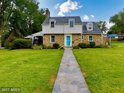 Randallstown Single Family Home For Sale: 3614 Blackstone Road