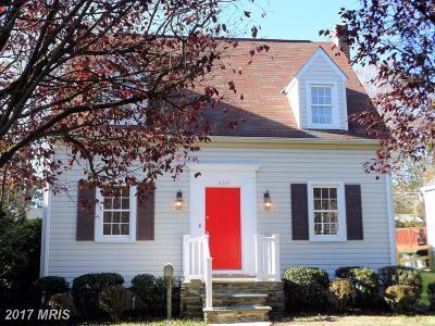 Baltimore Single Family Home For Sale: 620 Debaugh Avenue