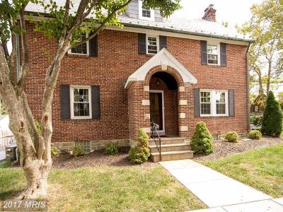 Baltimore Townhouse For Sale: 300 Dunkirk Road