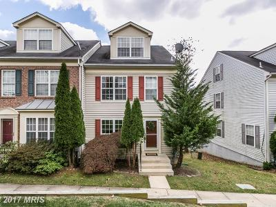 Owings Mills Townhouse For Sale: 9730 Bon Haven Lane