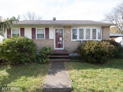 Reisterstown Single Family Home For Sale: 223 Parkholme Circle