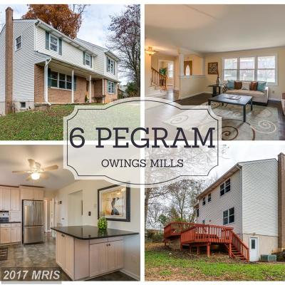 Baltimore Single Family Home For Sale: 6 Pegram Road