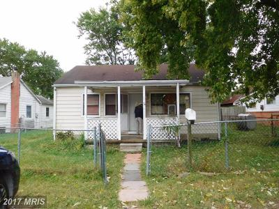 Middle River Single Family Home For Sale: 3 Honeycomb Road