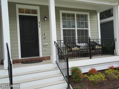 Baltimore Townhouse For Sale: 71 Linden Place