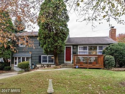 Baltimore Single Family Home For Sale: 210 Rollingdale Road