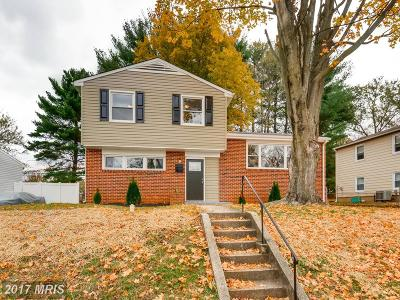 Randallstown MD Single Family Home For Sale: $245,000