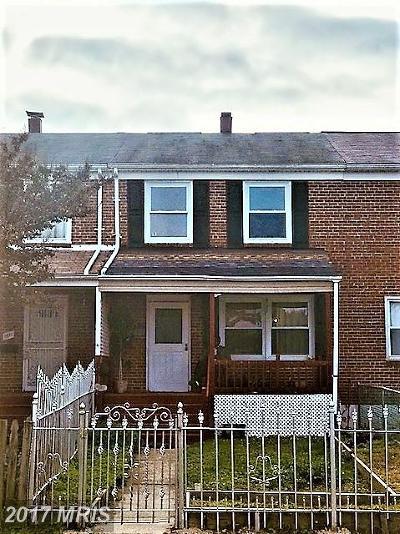 Baltimore Condo For Sale: 1609 Riverwood Road