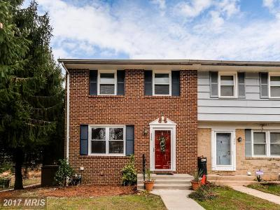 Owings Mills Townhouse For Sale: 246 Cedarmere Circle