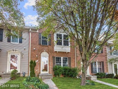 Owings Mills Townhouse For Sale: 9931 Sherwood Farm Road