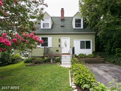 Baltimore Single Family Home For Sale: 5 Delight Avenue