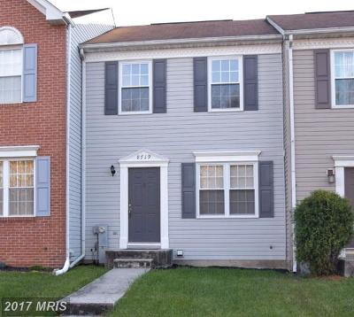 Nottingham, Parkville Townhouse For Sale: 8719 Yvonne Court Way