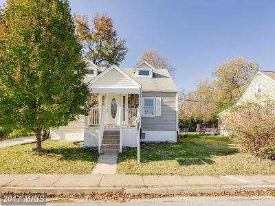 Baltimore Single Family Home For Sale: 404 Woodward Drive