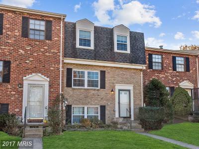 Catonsville Condo For Sale: 45 Kimball Ridge Court
