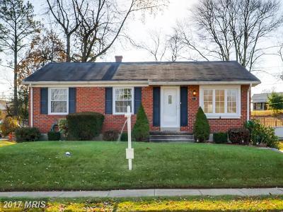 Baltimore Single Family Home For Sale: 2313 Covered Bridge Garth