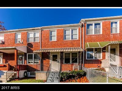 Baltimore Rental For Rent: 165 Hampshire Road