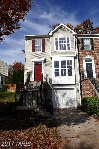 Baltimore Townhouse For Sale: 9246 Owings Choice Court