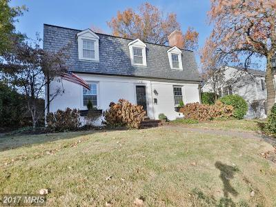 Towson Single Family Home For Sale: 612 Sussex Road