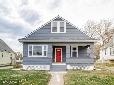 Baltimore Single Family Home For Sale: 6437 Gilmore Street