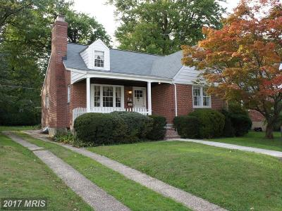 Baltimore Single Family Home For Sale: 44 Dungarrie Road